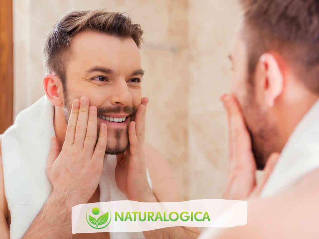 Curare la barba lunga con gli oli essenziali: olio barba fai da te.