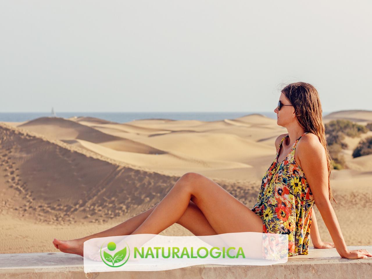 Olio doposole naturale a base di oli essenziali.