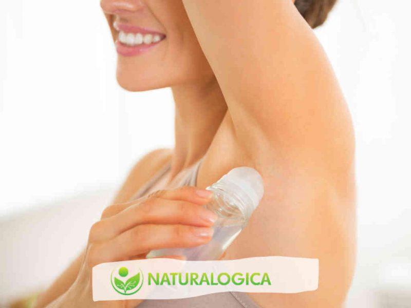 Olio deodorante fatto in casa con oli essenziali